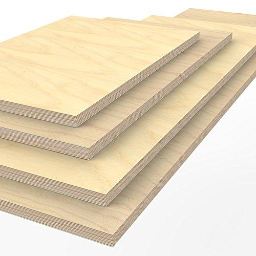 Profi Multiplexplatte 2000 x 750 x 40 mm Werkbankplatte Arbeitsplatte (von 125cm - 200cm lieferbar Variante wählen)
