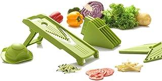 Trancheuse Mandoline coupe-légumes Veggie Dicer Cuisine Cinq-en-un Multi-fonction Légumes Slicer Slicer Salade De Légumes ...