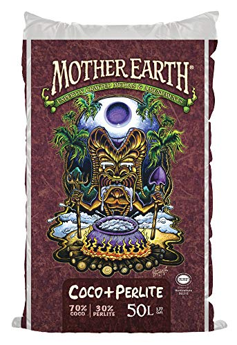 Mother Earth 70% Coconut Coir, 30% Perlite, 50 Liter bag 18.19