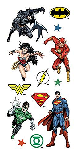 Paper House Productions 2-Inch Stickers, Justice League, 6-Pack, 6 Piece