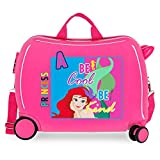 Disney Princesas Maleta Infantil Rosa 50x38x20 cms Rígida ABS Cierre combinación 34L 2,1Kgs 4 Ruedas Equipaje de Mano