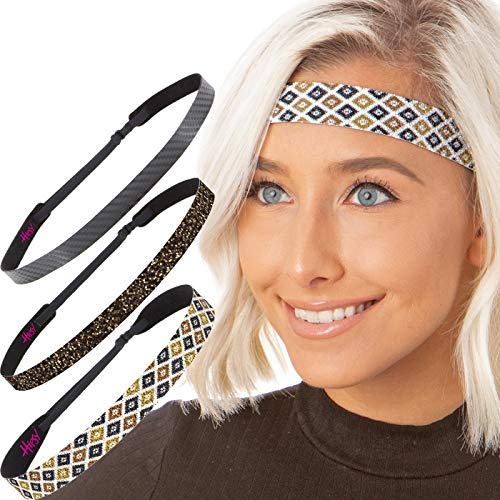 Hipsy Cute Fashion Adjustable No Slip Headbands