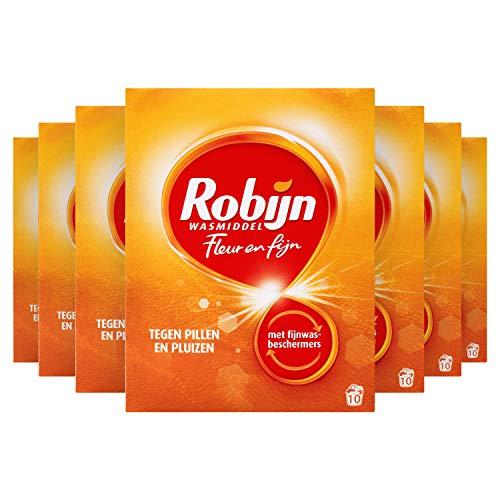 Robijn Fleur & Fijn Waspoeder Geconcentreerd Wasmiddel 7 x 10 wasbeurten Voordeelverpakking