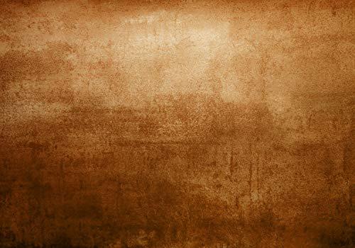 wandmotiv24 Fototapete Rost Metallisch Antik, XXL 400 x 280 cm - 8 Teile, Fototapeten, Wandbild, Motivtapeten, Vlies-Tapeten, braun, Metalloptik, Vintage M1415