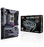 Asus TUF X299 Mark 1 Gaming Mainboard Sockel LGA 2066 (ATX, Intel, Aura Sync, DDR4 4133 MHz, Dual M.2)