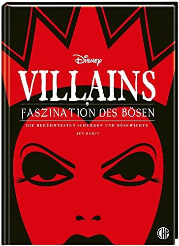 Disney Villains: Faszination des Bösen: Die berühmtesten Schurken und Bösewichte   Edle Ausstattung mit Schutzumschlag, Silberfolie und Soft Touch