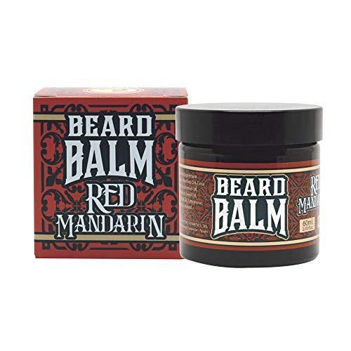 Hey Joe! Hey Joe - Beard Balm Nº2 Red Mandarin | Balsamo para Barba 60Ml con Argán, Jojoba, Coco y Manteca de Karité. Aroma Mandarina Roja. 60 ml