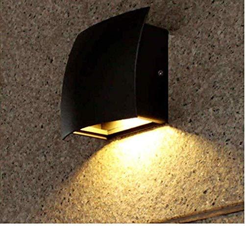 Meixian Wandlamp, binnenplaatsverlichting, buitenverlichting, landschapsverlichting, buitenverlichting, Europese zonnelamp, shell, kolom, kop, lamp, villa, deur, spleet, tuin, eenvoudig retro