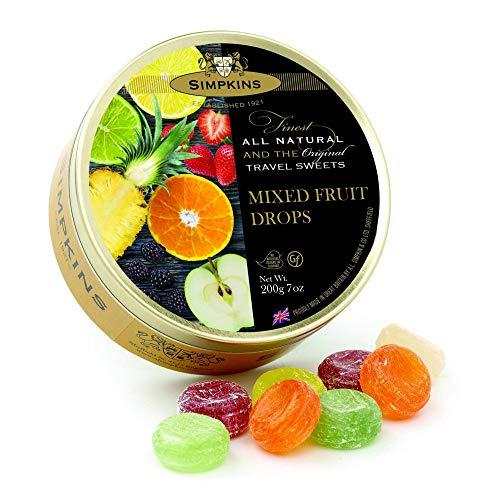 Simpkins Mixed Fruit Drops 200g, 1er Pack (1 x 200 g)
