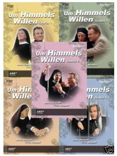 Um Himmels Willen Staffel 1-5 Set (20 DVD´s)