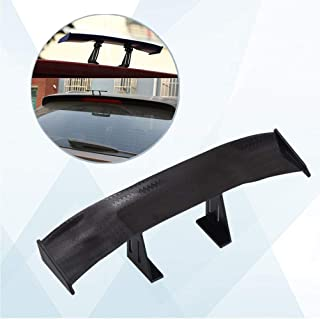 Omenluck 10 Pcs Diffuser Vortex Generator Flexible Shark Body Evo Style For Car Truck Suv Roof Shark Fins Spoiler Wing Kit Black