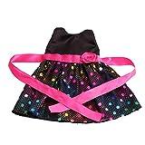 MagiDeal Süße Puppenkleidung Einteiliges Kleid Für 18 Zoll Puppen - 1