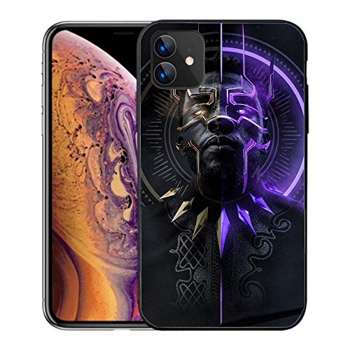 N / A iPhone 11 Pro Max Case, Comics Case Plastic Cover for iPhone 11 Pro Max (Black Panther)