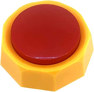 Boskey Direct-Recordable Button - Talking Button - Sound Button - Answer Buzzers - Max 30 Seconds Recording(Yellow-Red)