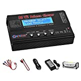 Best Lipo Battery Chargers - Lipo Charger, Professional Balance 80W 6A Charger Review
