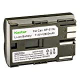 Kastar Battery Replacement for Canon EOS Rebel DS6041 PV130 ZR90 ZR85 ZR80 ZR70 ZR65 ZR60 ZR50 ZR45 ZR40 ZR30 ZR25 Cameras and Canon BP-508 BP-511 BP-511A BP-512 BP-512A BP-514 BP-522 BP-535 Battery