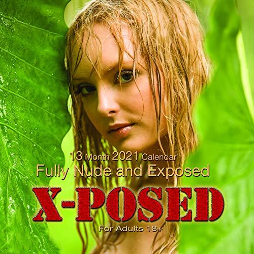 Mystique Xposed Playboy Style 2021 Wandkalender (hautfarben)