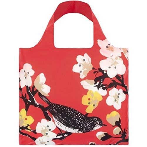 LOQI PR.CH Design-Einkaufstasche Prima, Cherry