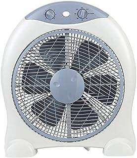 GSC Box Fan - Ventilador portátil, giro de 360°, potencia 45W - 230V, 50Hz, ASPA 30 cms