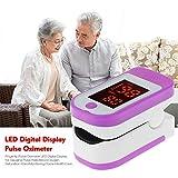 DRhomehouse Pulsossimetro da Dito, Pulsossimetro Display Digitale a LED per misurazione della...