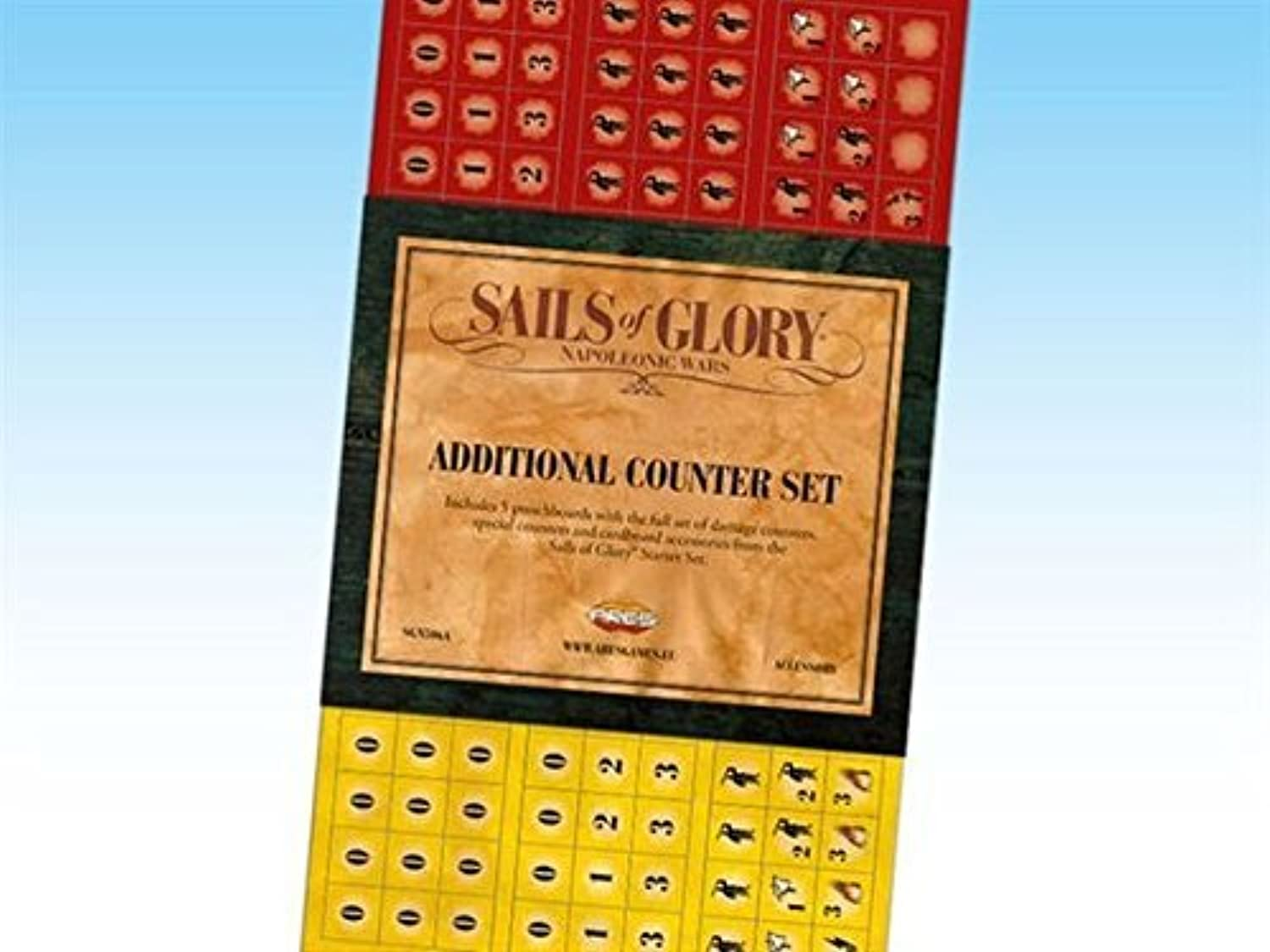 Sails of Glory  Counter Set by Ares Games