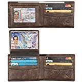 Best Wallets For Men - Wallet for Men-Genuine Leather RFID Blocking Bifold Stylish Review