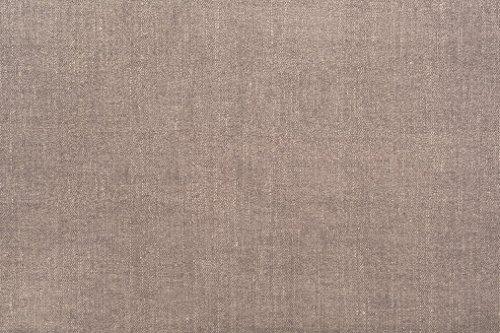 Furninero - Tiefer gepolsterter Sitzbank Sitzhocker Sitzruhe Betthocker Ottomane, mit Stauraum, Gerundete Beine, 120 cm breit, Softi Bronze Stoff (Wasserabweisen), Braun - 2
