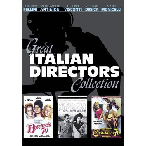 Great Italian Directors Collection [Edizione: Stati Uniti] [Reino Unido] [DVD]