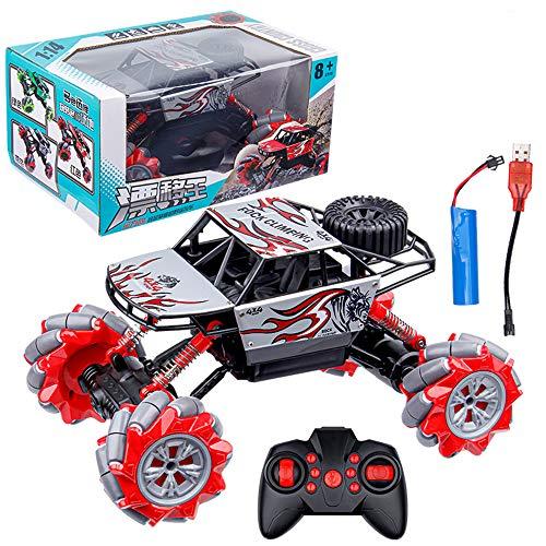 1:14 Control Remoto Coche Off Road Big Foot Pie Tiempo De Escalada 15km/H Double Motors RC Buggy 2.4GHz Principiante Juguetes Hobby Juguetes Navidad Regalo De Cumpleaños para Adultos Y Niños