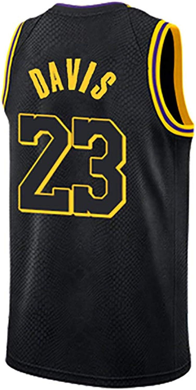 Anthony Davis Nr. 23 Trikot Kobe Bryant Nr. 24 Trikot Los Angeles Lakers Trikot Basketball Trainingsanzug Fans tragen Trikot + Shorts Anzug