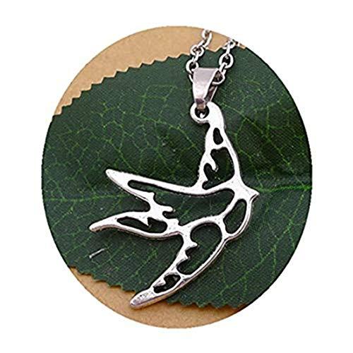 Zilveren Vogel Ketting, Mussen Ketting, Bruidsmeisjes Gift, Moeder Gift