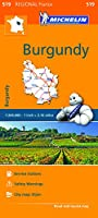 Michelin Regional Burgundy / Bourgogne (Michelin Regional France)