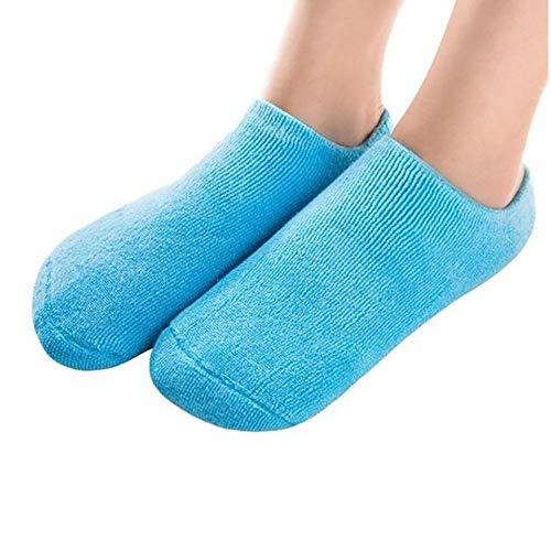 Pinkiou Spa Moisturizing Gel Socks for Dry Feet Ankles Cracked Heel Repair...
