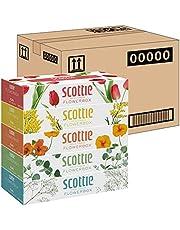 【ケース販売】 スコッティ ティシュー フラワーボックス 320枚(160組) 5箱 ×12パック入り