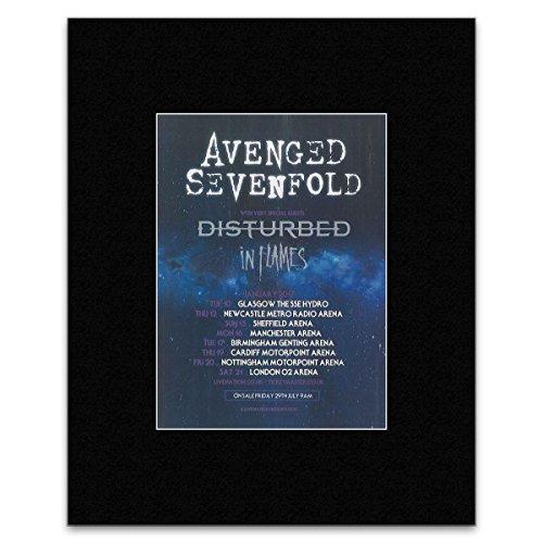 Kerrang Avenged Sevenfold – Januar 2017 Tour Dates Mini-Poster – 40,5 x 30,5 cm