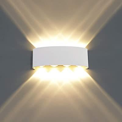 HAWEE Moderno Apliques de Pared LED Luz de Pared Impermeable ...