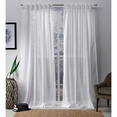 Exclusive Home Curtains Bella Window Curtain Panel Pair with...