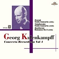 Georg KulenkampffViolin Concerto Recordings Vol 4 by Georg Kulenkampff