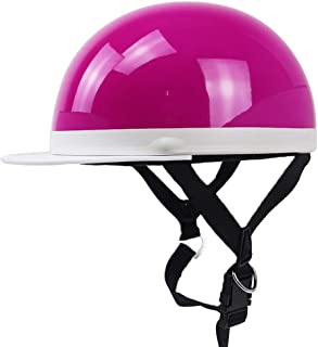 TEQIN Motorcycle Helmet Electromobile Leisure JIS PSC Certification Riding Helmet Pink