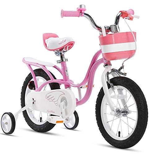 RoyalBaby Girl's Bike Little Swan