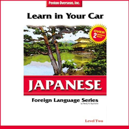 Learn in Your Car: Japanese, Level 2 cover art