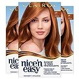 Clairol Nice'n Easy Permanent Hair Color, 6R Light Auburn, 3 Count