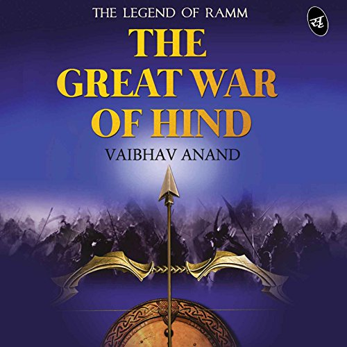 The Great War of Hind audiobook cover art