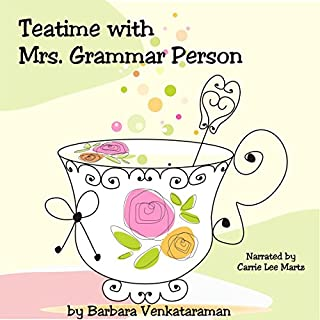 Teatime with Mrs. Grammar Person cover art