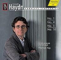 ハイドン : 交響曲全集シリーズ 第17集 - 第1番、第4番、第5番、第10番 (Joseph Haydn : Complete Symphonies Vol.17 - Symphonies Nos. 1, 4, 5 & 10 / Heidelberger Sinfoniker, Thomas Fey) [輸入盤]