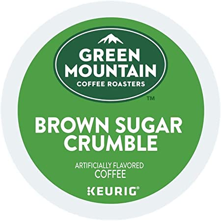 Green Mountain Coffee Roasters Brown Sugar Crumble single serve K-Cup pods for Keurig brewers, 18 Count