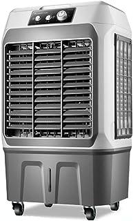 XSJZ Enfriador de Aire, 4500 Volumen de Aire Portátil Gran Tanque de Agua 3 Velocidades con Humidificación de Aire Y Ventilador Refrigeración Doméstica Enfriador Portátil Aire Acondicionado