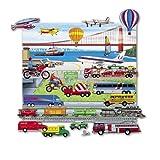 Trucks Trains & Planes Felt Fun Felt Board included