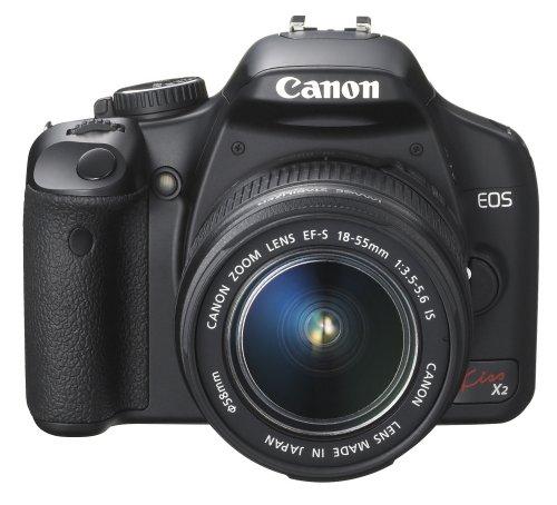Canon デジタル一眼レフカメラ EOS Kiss X2 レンズキット KISSX2-LKIT