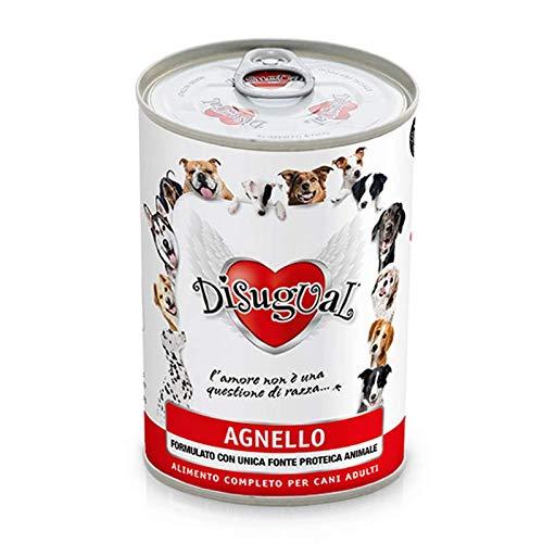 Disugual Monoproteico Agnello Cibo Umido Ipoallergenico per cani adulti - 400 gr